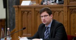 Gulyás Gergely, a Miniszterelnökséget vezető miniszter éves meghallgatásán az Országgyűlés igazságügyi bizottságának ülésén az Országház Delegációs termében 2020. december 1-jén. MTI/Koszticsák Szilárd