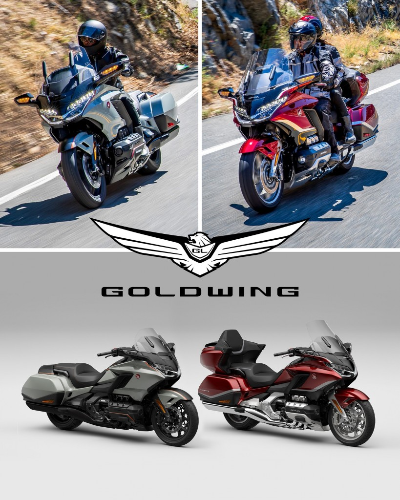 Honda completes its comprehensive 2021 model line-up with updates to  GL1800 Gold Wing and Gold Wing ?Tour?