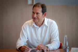 Török Zoltán, a Raiffeisen Bank Zrt. vezető elemzője Fotó: Juhász Melinda
