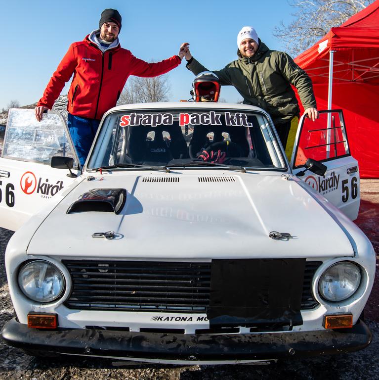 Bátyi Barnabás - Bacsik Roland FRT.HU Kupa Speed Rally Team Lada 2101 2021.02.13.